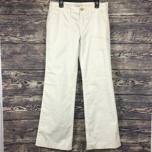 Banana Republic Women's white trousers size 2